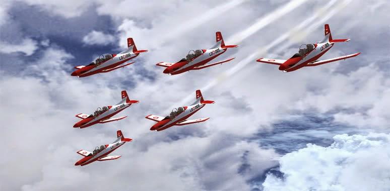 Jatuh Saat latihan, 4 Pilot Pesawat Jupiter Aerobatic Team TNI AU Selamat