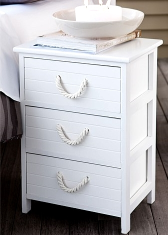 Get a handle on rope dress up drawers cabinet doors - Decoration style bord de mer ...