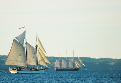 Graceful Tall Ships Give Traverse City a Nautical Flavor