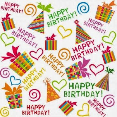Happy Birthday motivos cumpleaños