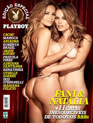 Playboy Especial As 13 Mais Gatas do BBB Fevereiro 2013