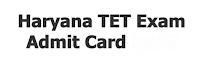 HTET Admit Card