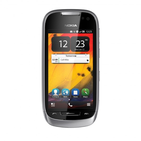 Nokia 701, Symbian Belle, Specifications ClearBack 3.5 inch screen, 1GHz Processor & 8MP Camera