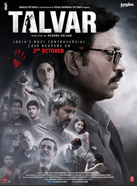 Talvar Movie Review, talvar this friday, meghna gulzar, trfan khan, delhi blogger, delhi fashion blogger, indian blogger, Irfan Khan, Meghna Gulzar, Noida double murder case, Arushi Hemraj mueder case movie,beauty , fashion,beauty and fashion,beauty blog, fashion blog , indian beauty blog,indian fashion blog, beauty and fashion blog, indian beauty and fashion blog, indian bloggers, indian beauty bloggers, indian fashion bloggers,indian bloggers online, top 10 indian bloggers, top indian bloggers,top 10 fashion bloggers, indian bloggers on blogspot,home remedies, how to