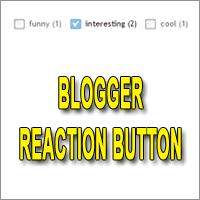 Tombol Reaksi Di Blog Valid HTML5