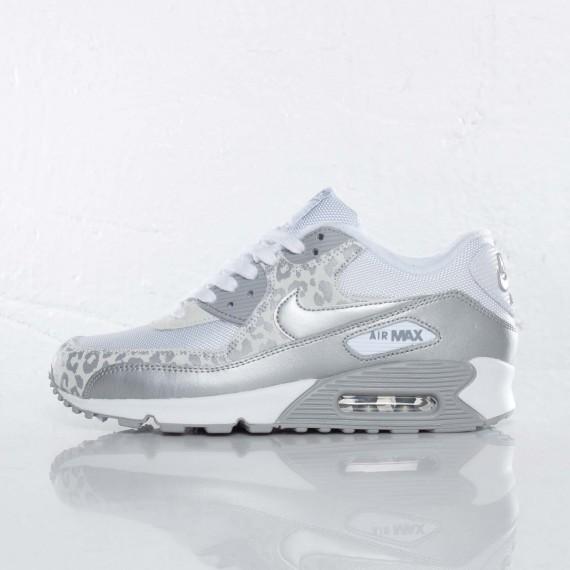 Nike Air Max Silver White Leopard  dbde56354