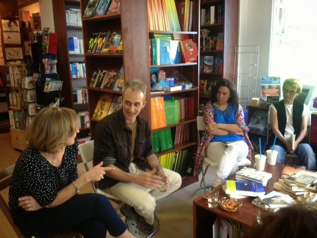 Rencontre avec Rafael Balanzá à La Librairie de Madrid - juin 2014