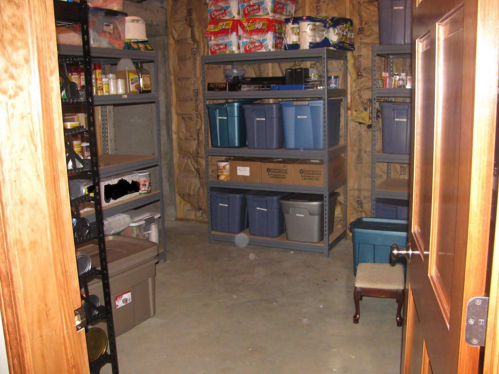 Survival Prep Preppers Food and Water Storage