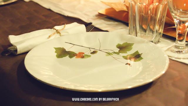 Vajilla fiesta otoño