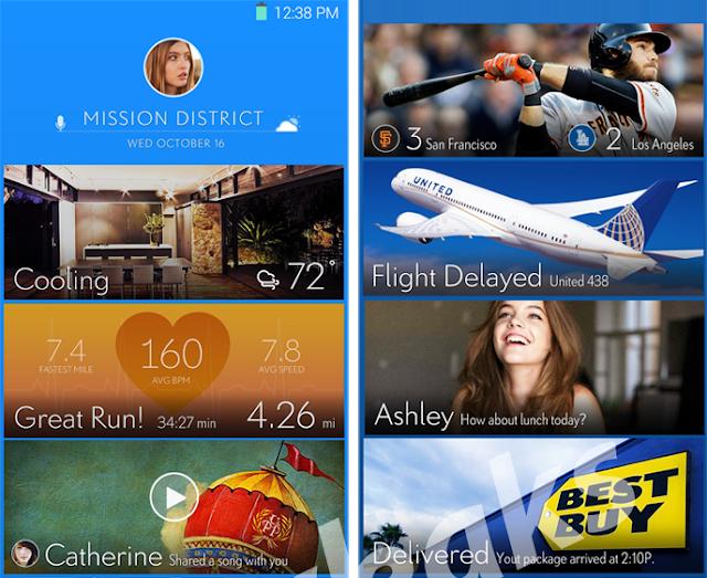 Samsung's new smartphone UI