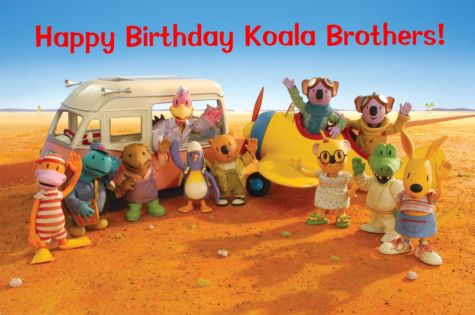 Happy 10th Birthday to the Koala Brothers