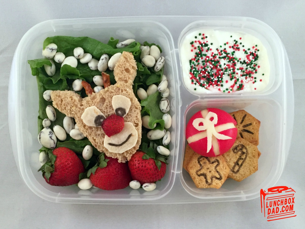 Rudolph the Red-Nosed Reindeer Bento Lunch