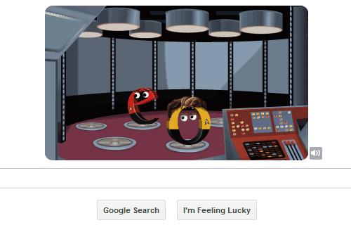 Star Trek Google Doodle 3