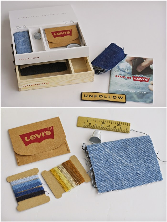 levis denim repair kit