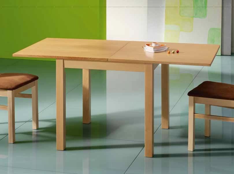 Mesas de comedor mesas de comedor de la coleccion helena - Mesas comedor cuadradas extensibles ...