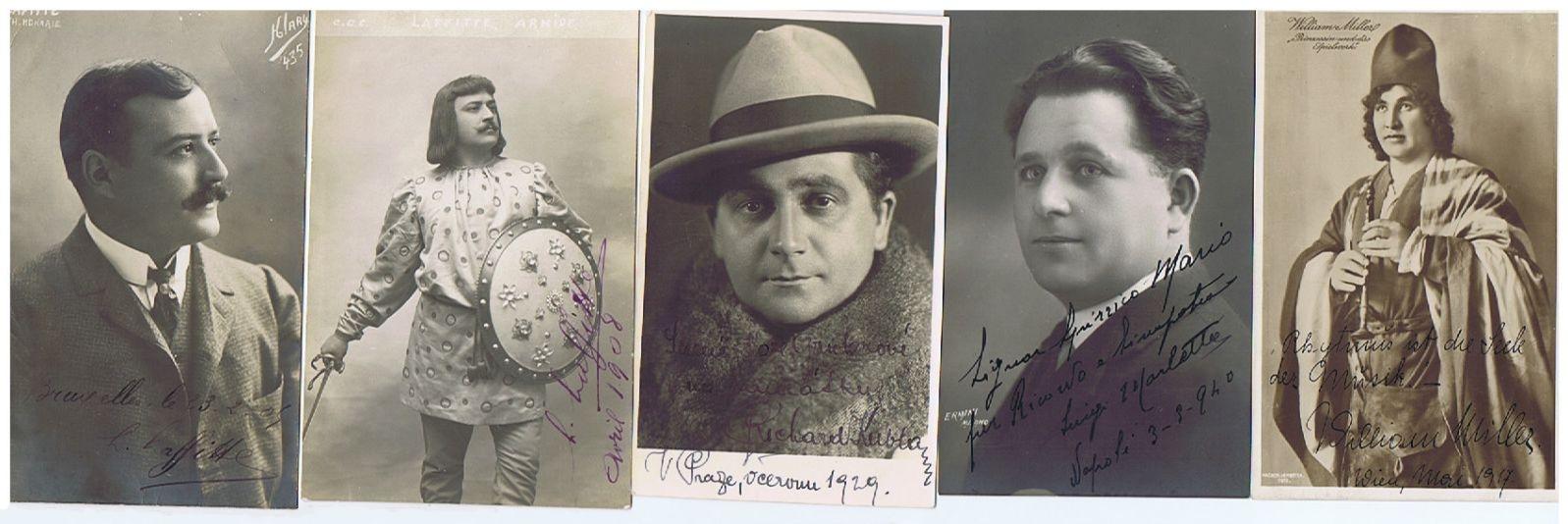 Forgotten Opera Singers