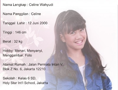 Blogs World: Profil Singkat Dan Koleksi Foto Celine Swittins