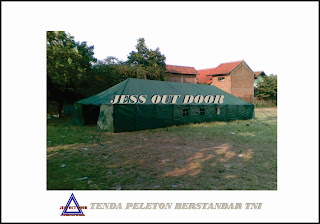 Pabrik, Tempat, Produksi, Harga Tenda Pleton