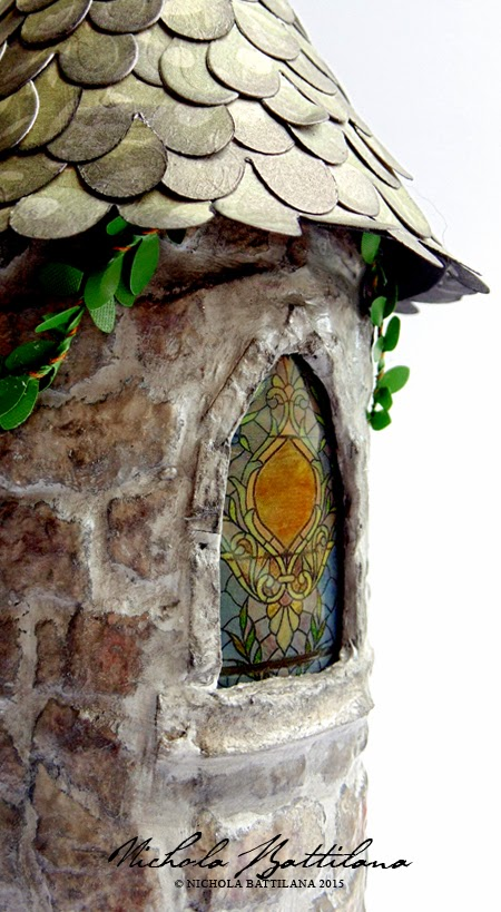 Upcycled Rapunzel Tower - Nichola Battilana
