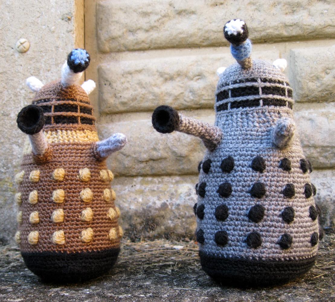 LucyRavenscar - Crochet Creatures: Dalek Amigurumi Pattern ...