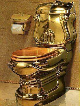 gold plated toilet seat. Presidential K lliye and the golden toilet seat  Pit Latrine