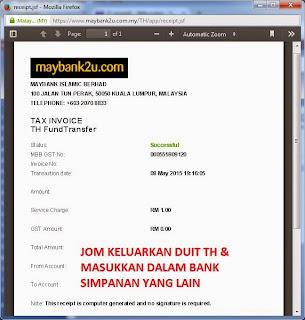 Jom Keluarkan Duit Dari Tabung Haji Jangan Biarkan Duit Simpanan Kita Digunakan Untuk Membayar Hutang 1MDB