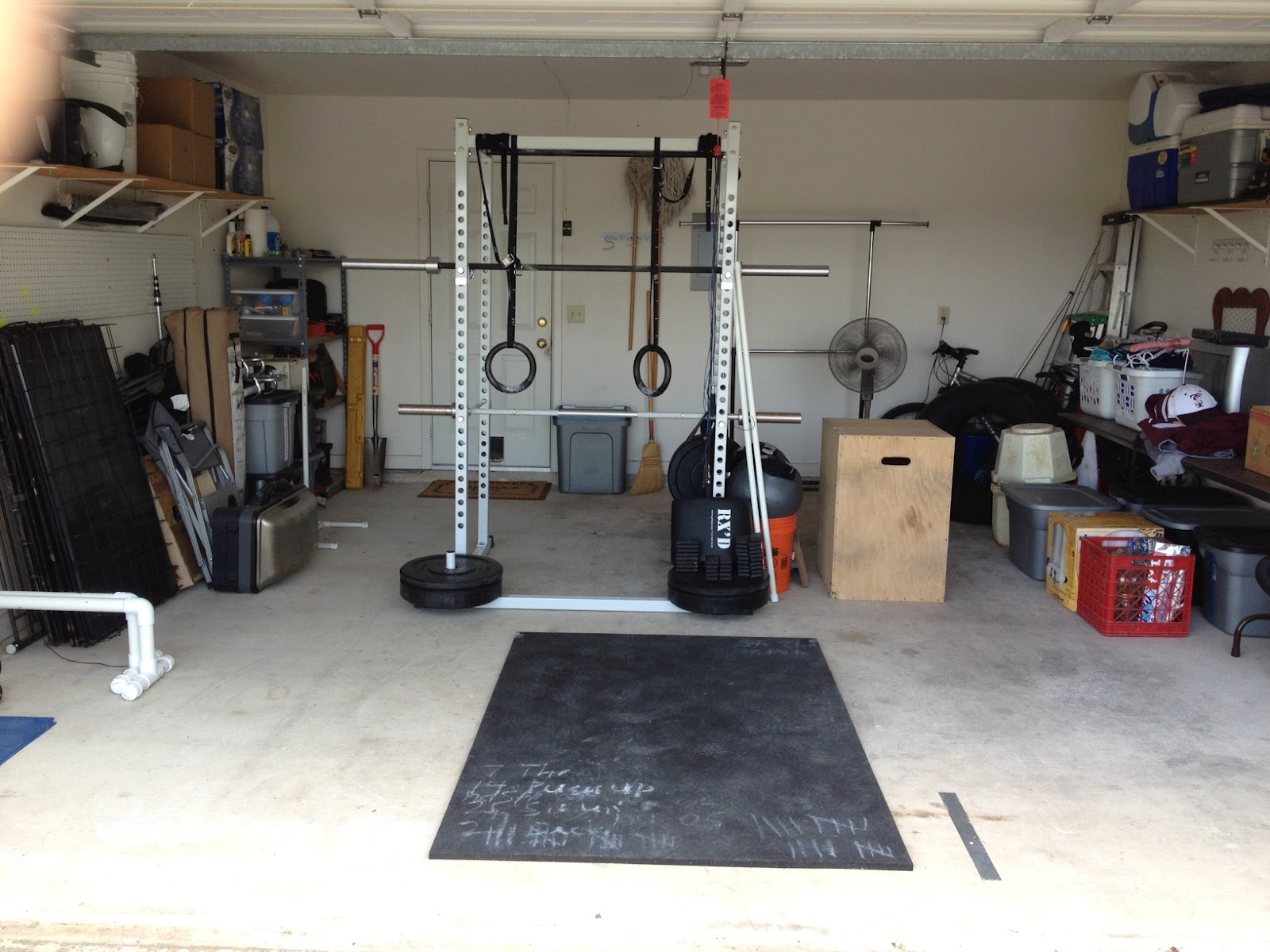 Flooring For Garage Gym Maybe Not A Garage Gym But It