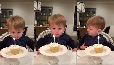 See how this toddler entertain us