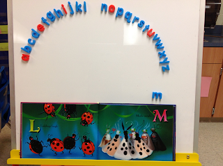 using abc arc to match letters in book