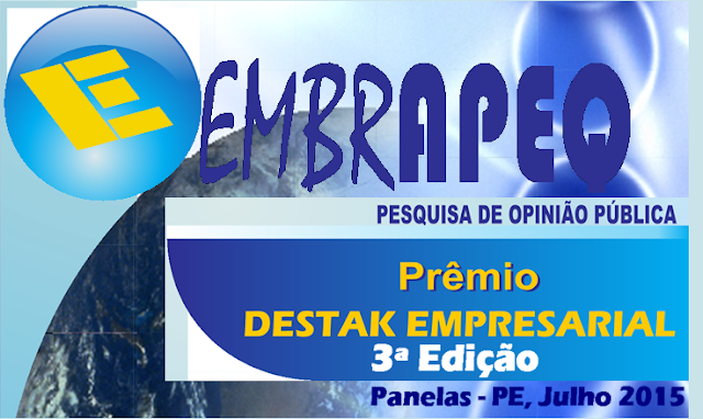 Prêmio Destak Empresarial 2015 em Panelas (PE)