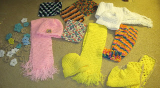 crocheted items for homeless