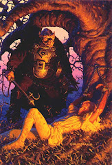 Illustration from 'Urshurak', by the Brothers Hildebrandt and Jerry Nichols