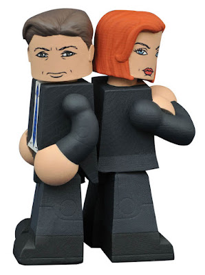 The X-Files Mulder & Scully Vinimates Vinyl Figures by Diamond Select Toys