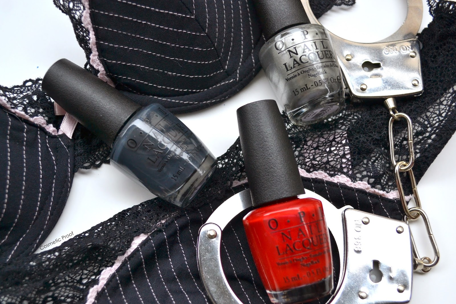 OPI 50 Shades of Grey Colletion Swatches Review