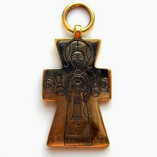 бронзовый православный крест христианство украина россия купить