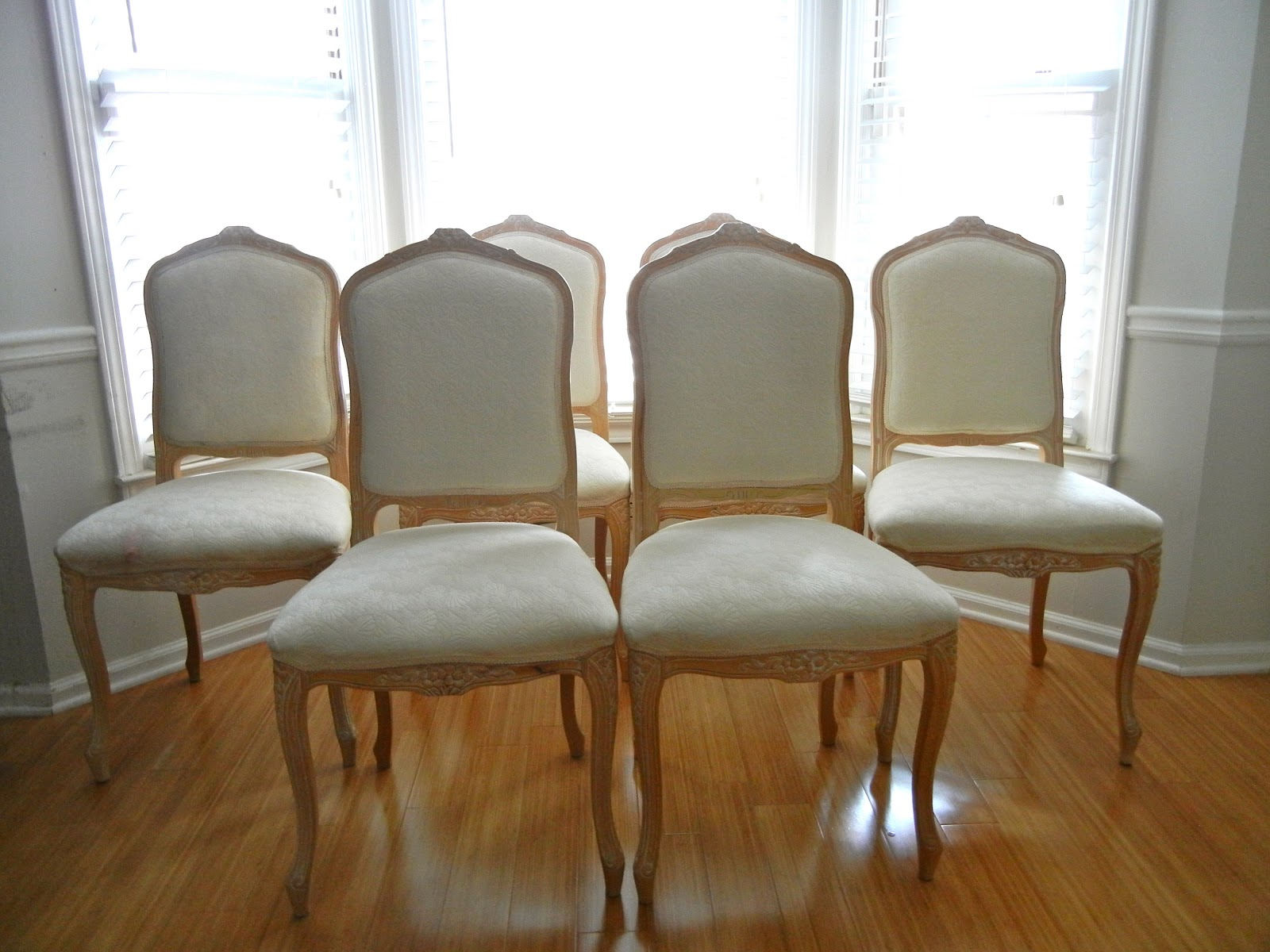 reupholstering louis dining chairs part 1 dayka robinson designs