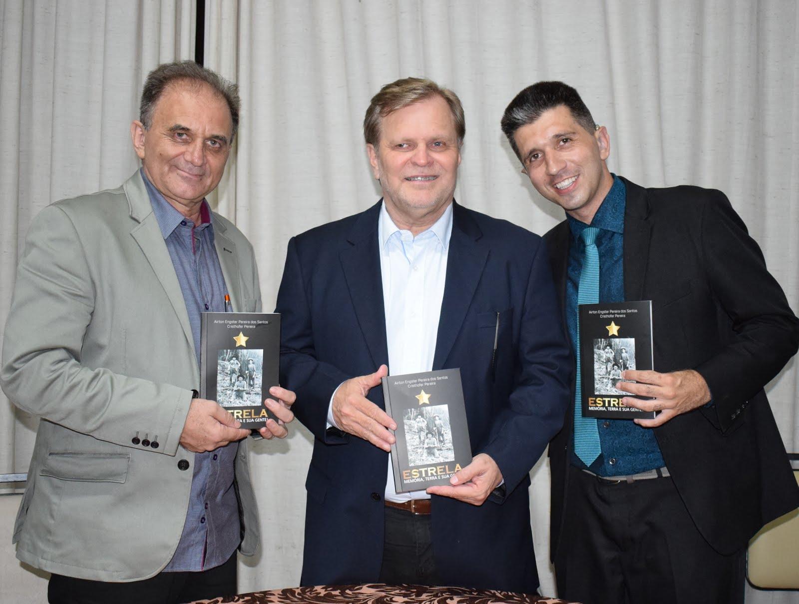 Airton Engster dos Santos, Ricardo Wagner e Cristhofer Pereira
