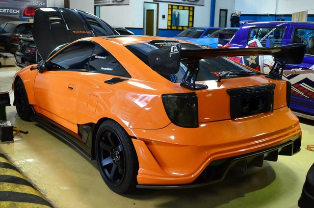 Vios Black Modified >> has anybody seen this Celica before? - NewCelica.org Forum