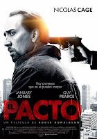 Cartel de 'El pacto' (Seeking Justice), dirigida por Roger Donaldson, con Nicolas Cage y Guy Pearce. Premiere Making Of Cine