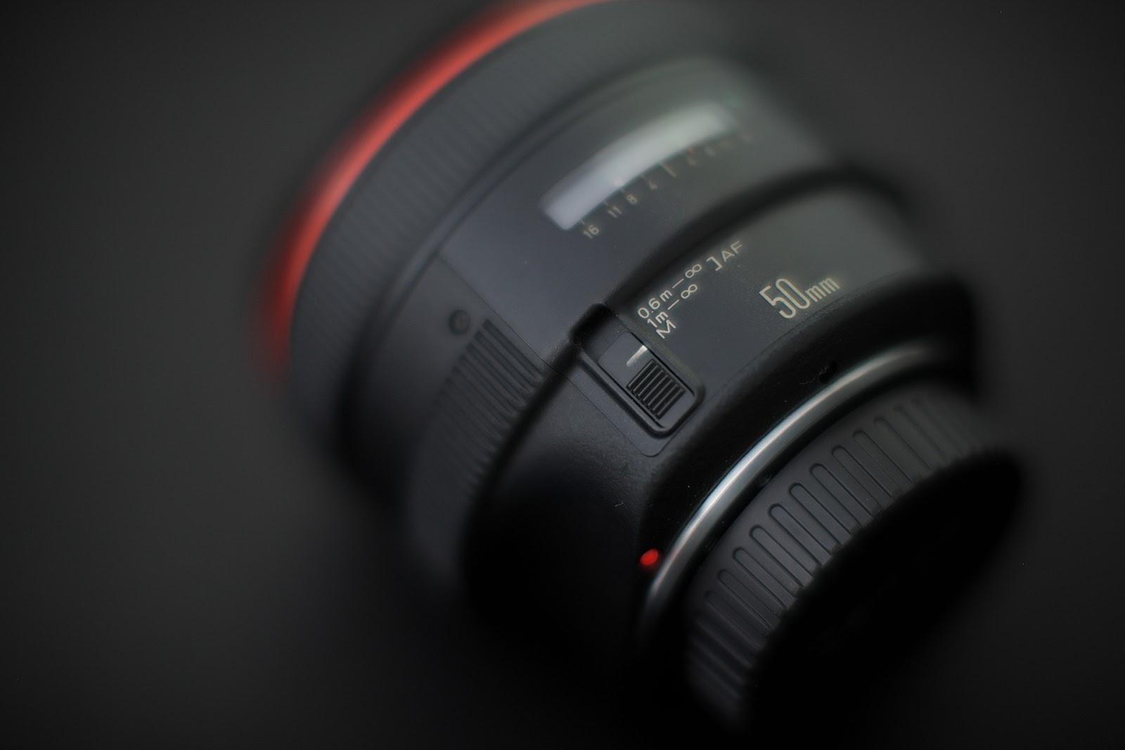 Canon EF 50mm f1.0 L
