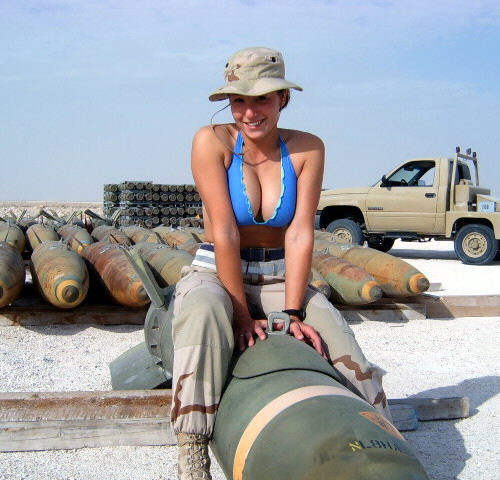 Hot Women in the Military