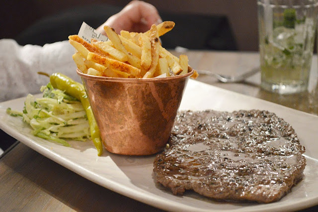 Italian steak and chilli chips