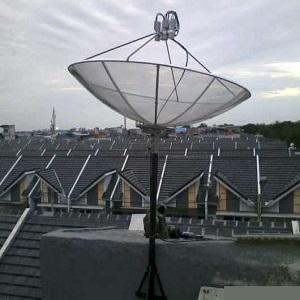 Antena Parabola 4 Satelit