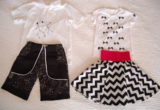 Black and White summer outfits by Cicely Ingleside