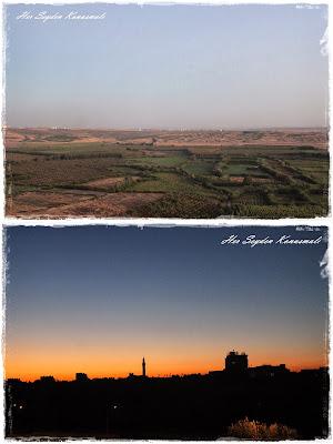 Diyarbakır surlarından manzara