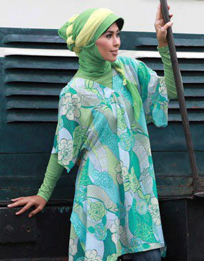 Zenitha Collection Blouse Muslimah Modern Bahan Chiffon