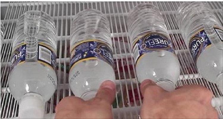 طريقة تحويل الماء إلى ثلج في اقل من 60 ثانية