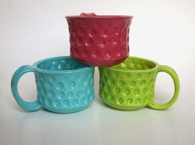 Dimpled Mug Set