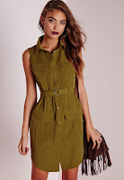 https://www.missguided.co.uk/new-in/sleeveless-belted-shirt-dress-khaki