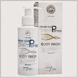Крем-мыло с пептидами натуральное